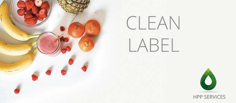 Clean Label feasible thanks to HPP treatment